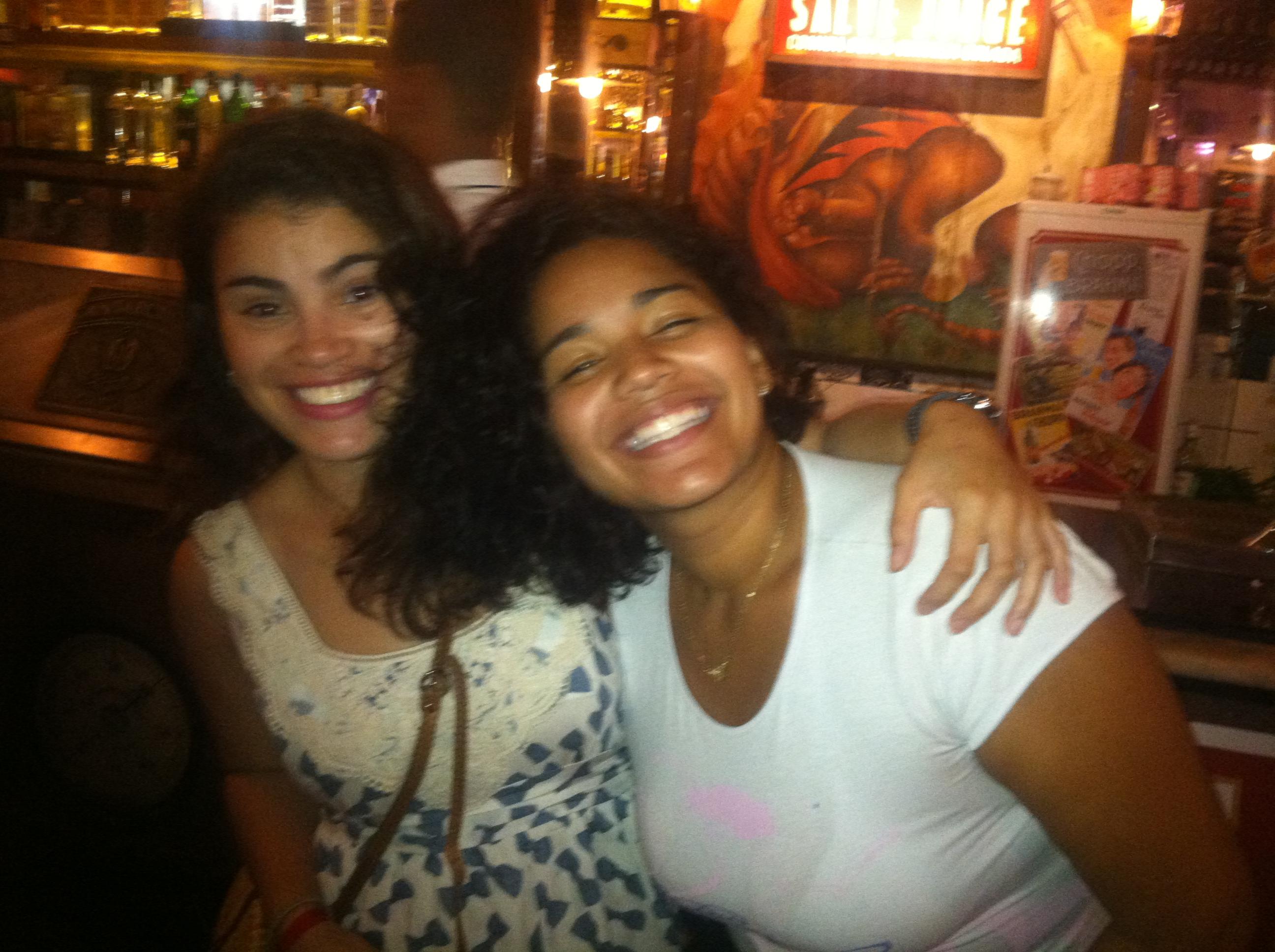 sisters!  same mom.  same dad.  isn't genetics cool?